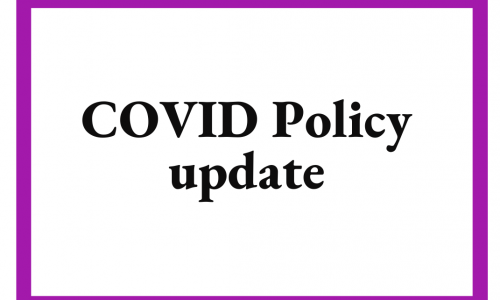 COVID Update for Fall